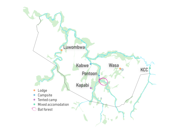 Kasanka Sites